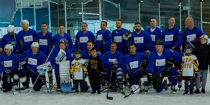 hockey group blue