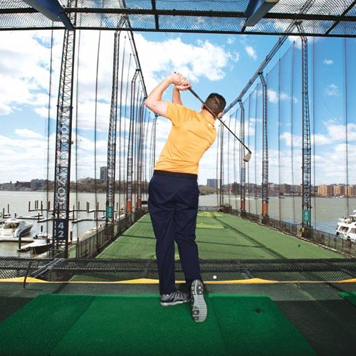 Golf at Chelsea Piers