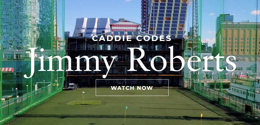 Caddie Codes with Jimmy Roberts
