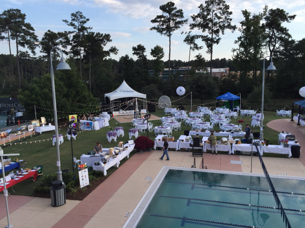 Stone Creek Club & Spa - Event Lawn