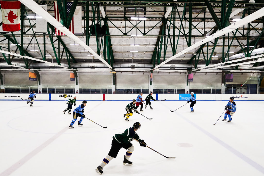 Membership in the club is by invitation, and only former college and pro players with strong hockey pedigrees are asked to join.