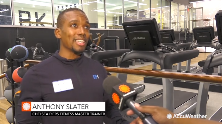 Anthony Slater - Chelsea Piers Fitness Master Trainer