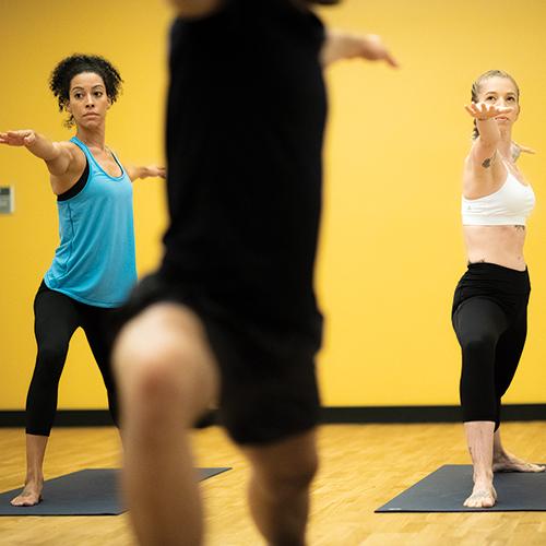 Hip-Hop Hot Yoga